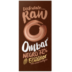 Ombar Chocolate (Dark 72 ) Negro 72 Crudo Bio 35g