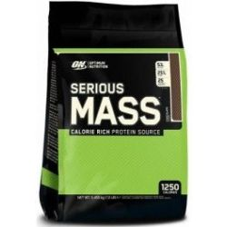 Optimum Nutrition Proteína On Serious Mass 12 Lbs (5 45 Kg) Sabor Chocolate