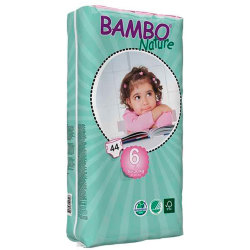 Pañales Bambo Nature XL 16 30Kg 44Uds