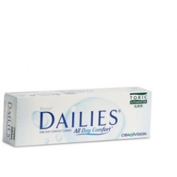 Dailies all day comfort 30uds curva 8.6 dioptrías 6.00