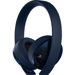 Sony PlayStation 4 Wireless Headset Auriculares 500 Million Limited Edition azul