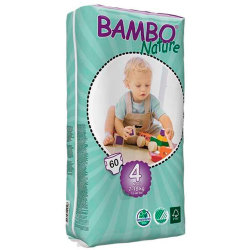 Pañales Bambo Nature Maxi 7 18Kg 60Uds