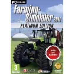 Farming Simulator 11 Platinum Edition