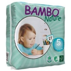 Bambo Nature pañales T 5 Junior 12 25kg 21uds
