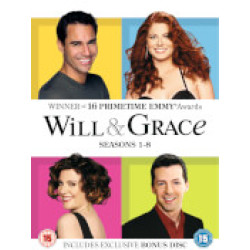 Will Grace 1 8 Complete