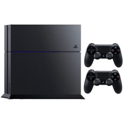 Sony PlayStation 4 1 TB Ultimate Player Edition incluye 2 mandos inalámbricos negro mate