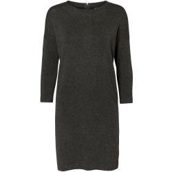 3 4 SLEEVED KNITTED DRESS