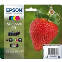 Strawberry Multipack 4 colours 29 Claria Home Ink Tinta