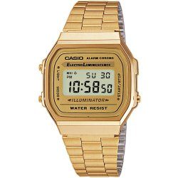 Casio A168WG 9EF estampado