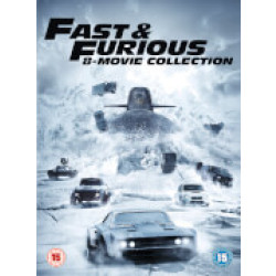 Fast Furious 8 Film Collection (Includes Digital Download)
