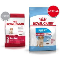 Pack ahorro Royal Canin para perros 8 a 15 kg Medium Junior 2 x 15 kg