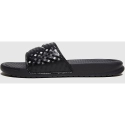 Nike Benassi Just Do It Slides para mujer negro