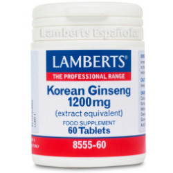 Lamberts Korean Ginseng 1200mg 60comp
