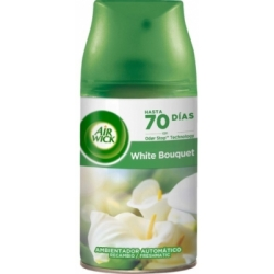 FRESHMATIC ambientador recambio white 250 ml