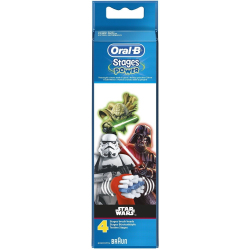 Oral B® Stages Power Star Wars recambios 4uds