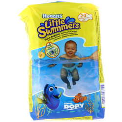 Pañales Huggies Little Swimmers Talla S 3 8 Kg 12ud
