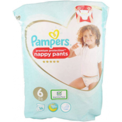 Pampers Couch Prem Prot Pantalón T6 16