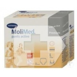 MoliMed Pants Active talla mediana 12uds