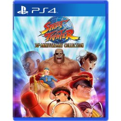 PS4 Game Street Fighter 30th Anniversary Collection for PlayStation 4 English