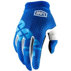Guantes 100 MX Itrack Azules 2020