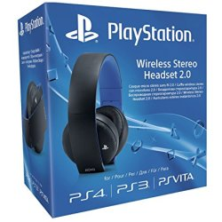 Sony PlayStation 4 Wireless Stereo Headset 2.0 Auriculares inalámbricos negro