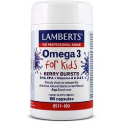 Lamberts Omega 3 For Kids 100cáps