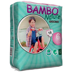 Pants Bambo Nature XL 18Kg 18Uds