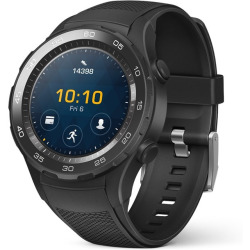 Huawei Watch 2 45mm negro con correa deportiva carbón black Wifi