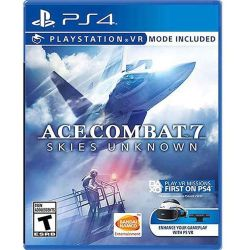 PS4 Game Ace Combat 7 Skies Unknown para PlayStation 4 (Solo ingles)