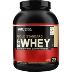 Optimum Nutrition Proteína On 100 Whey Gold Standard 5 Lbs (2 27 Kg) Sabor Fresa