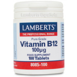 Lamberts vitamina B12 100mg 100comp