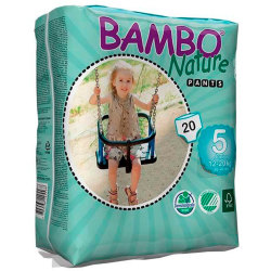 Pants Bambo Nature Junior 12 20Kg 20Uds