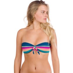 Rip Curl Golden Haze Bandeau Bikini Top estampado